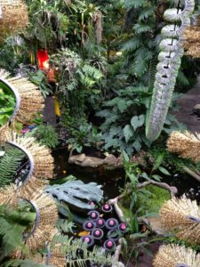 毛刷與熱帶植物的交纏奇想