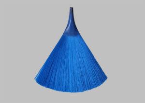 藍色毛刷一體成型─掃把型