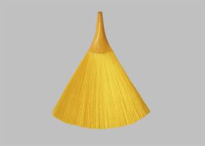 黃色毛刷一體成型─掃把型