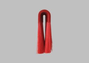 紅色毛刷一體成型─馬蹄型