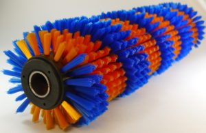 輪刷可用於按摩牛背