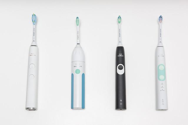 植毛式的電動牙刷