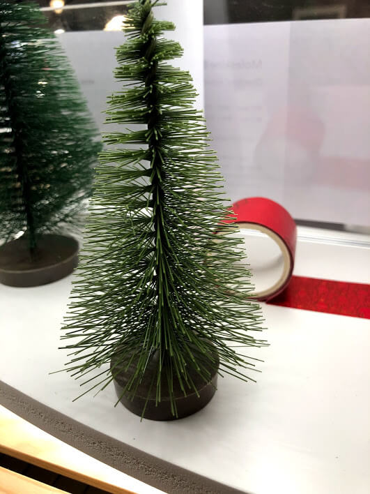 tube christmas tree brush